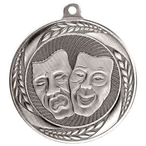 "Typhoon Drama Medal Silver 55mm (2.1"")"