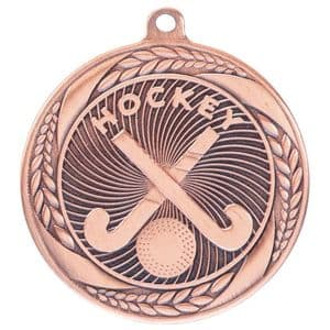 "Typhoon Hockey Medal Bronze 55mm (2.1"")"