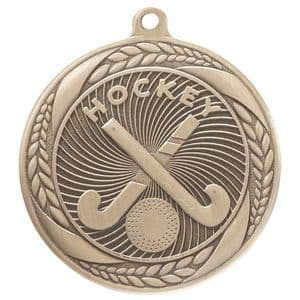"Typhoon Hockey Medal Gold 55mm (2.1"")"