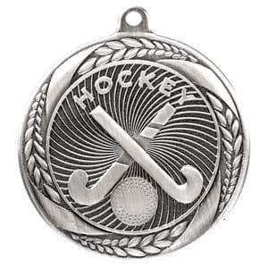"Typhoon Hockey Medal Silver 55mm (2.1"")"