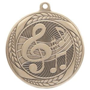 "Typhoon Music Medal Gold 55mm (2.1"")"