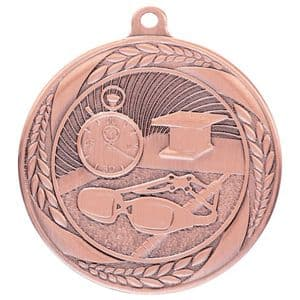 "Typhoon Swimming Medal Bronze 55mm (2.1"")"