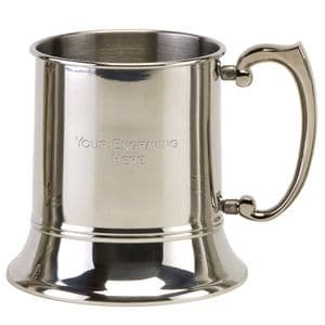 Vision Classic 1pint Polished Stainless Steel Tankard