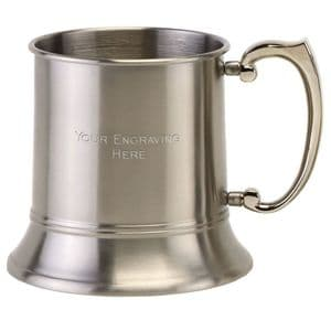Vision Classic 1Pint Satin Stainless Steel Tankard