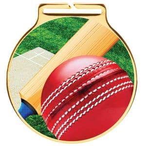"Vision Cricket Medal 60mm (2.3"")"