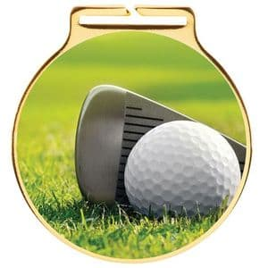 "Vision Golf Medal 60mm (2.3"")"